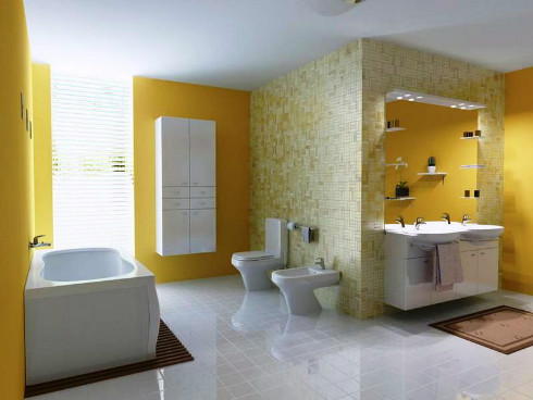 Bathroom House Paint Colors