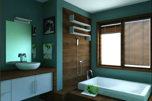 Bathroom Paint Colors Example