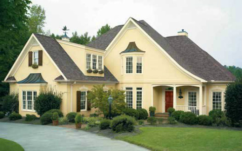 Choosing Color Combinations - Exterior Paint Color Combinations ...