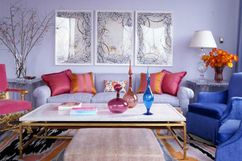Interior Paint Color Schemes - Analogous Example