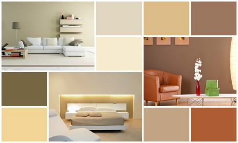 Paint Color Combinations Examples