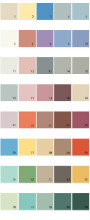 Behr House Paint Colors - Palette 01