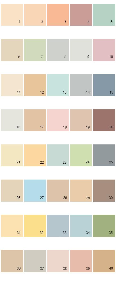 Behr House Paint Colors - Palette 05