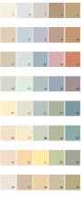 Behr House Paint Colors - Palette 17