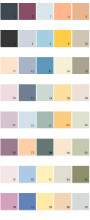 Behr House Paint Colors - Palette 25