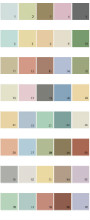 Behr House Paint Colors - Palette 29