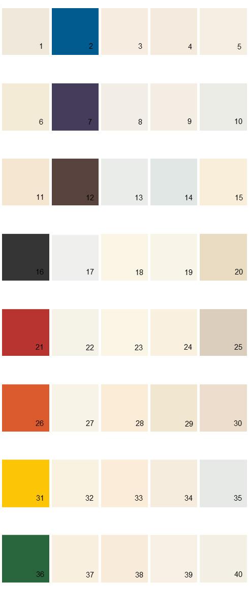 Behr House Paint Colors - Palette 32