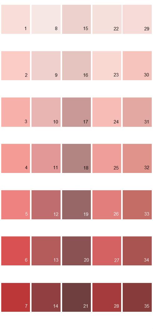 Behr Paint Colors - Colorsmart Palette 04