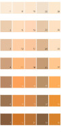 Behr Colorsmart Paint Colors - Palette 11