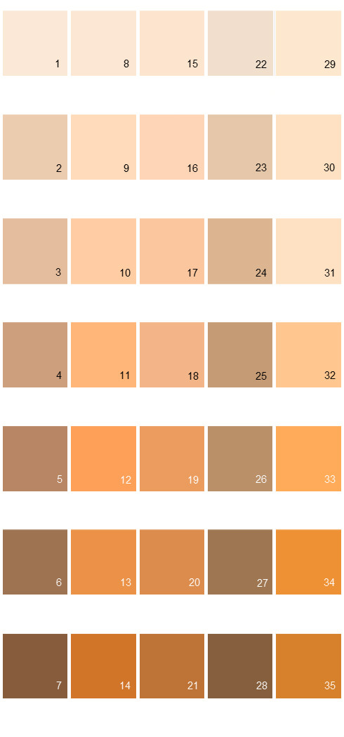Behr Paint Colors Colorsmart Palette 11