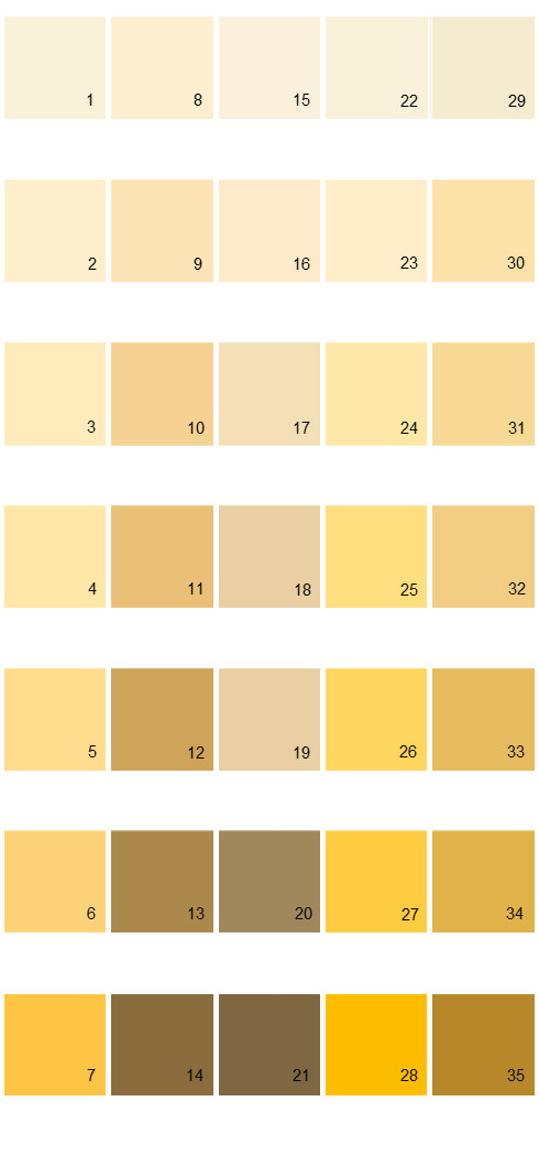 Yellow gold paint colors yellow gold paint colors amusing for Best neutral yellow paint colors