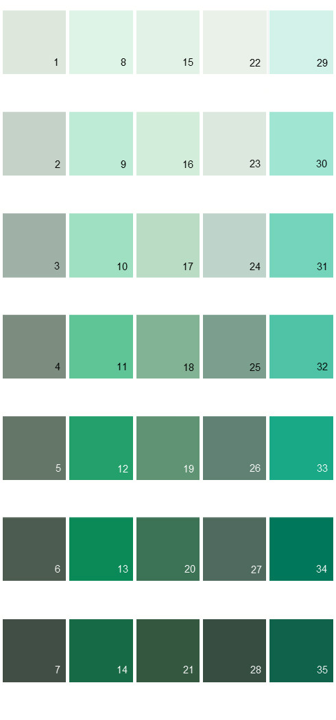 Behr Paint Colors Colorsmart Palette 23