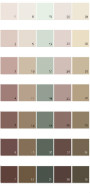 Behr Colorsmart Paint Colors - Palette 37