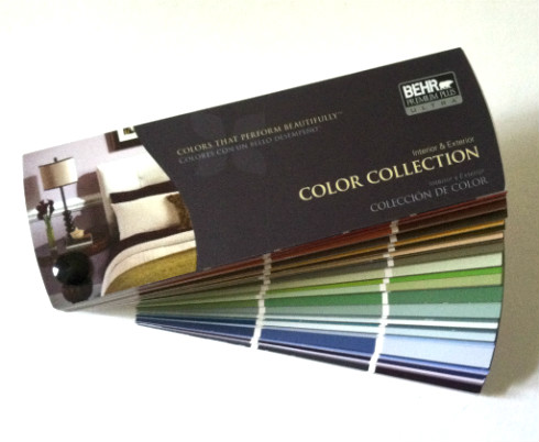Behr Paint Colors - Paint Fan Deck