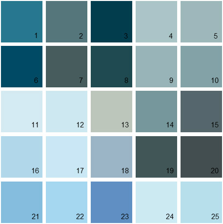 Blue Exterior Paint Colors on black and grey bedroom designs