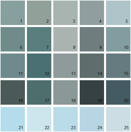 Benjamin Moore Paint Color Knoxville Gray