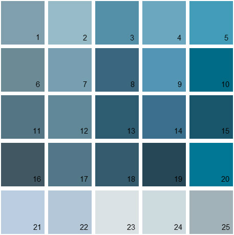 Benjamin moore paint colors blue palette 13 house for Oil paint colors names