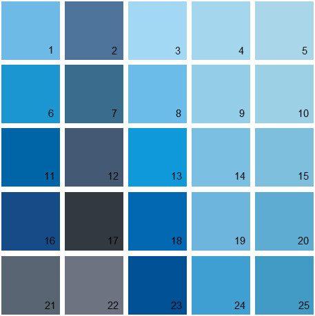 Benjamin Moore Paint Colors Blue Palette 15 House