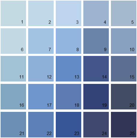 Benjamin Moore Blue Paint Colors