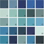 Benjamin Moore Blue House Paint Colors - Palette 21