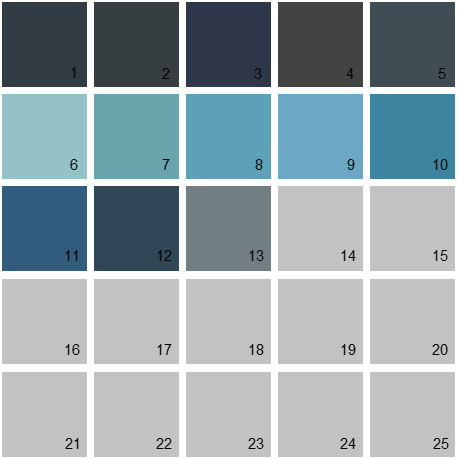 Blue gray paint color benjamin moore for Gray blue exterior paint colors