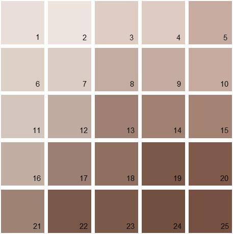 Benjamin Moore Paint Colors Brown Palette 02 House