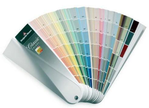 Benjamin Moore Paint Colors - Paint Fan Deck