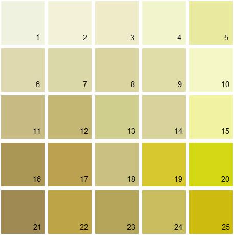 Benjamin Moore Green House Paint Colors - Palette 03