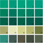 Benjamin Moore Green House Paint Colors - Palette 25
