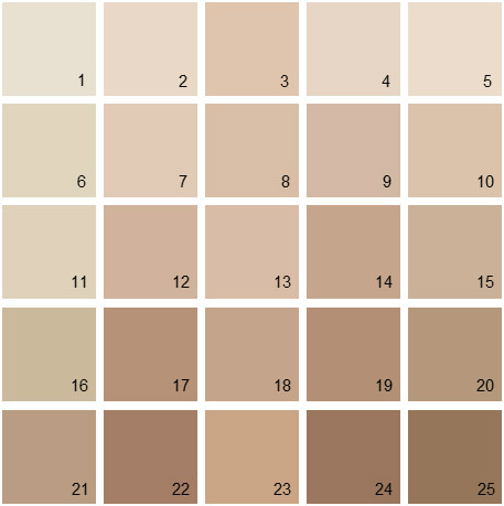 Benjamin Moore Neutral House Paint Colors - Palette 04