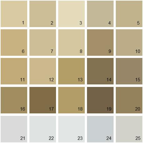 Benjamin Moore Neutral House Paint Colors - Palette 14