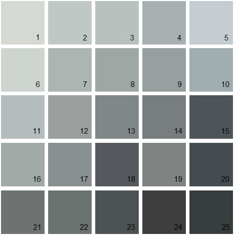 Gunmetal Blue Paint Color