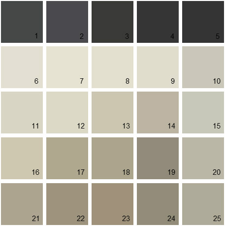 Benjamin Moore Neutral House Paint Colors Palette 22