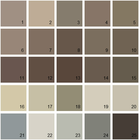 Benjamin Moore Paint Colors Neutral Palette 25 House