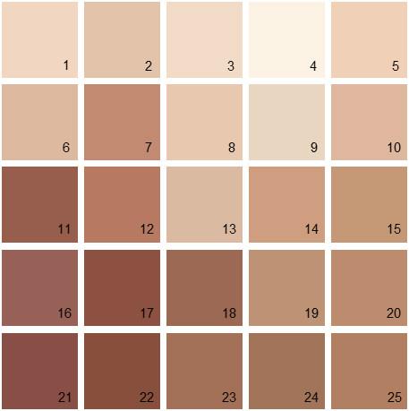 Benjamin Moore Orange House Paint Colors - Palette 01
