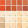 Benjamin Moore Orange House Paint Colors - Palette 08