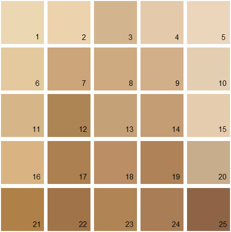 Benjamin Moore Orange House Paint Colors - Palette 16
