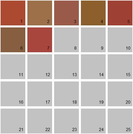 Benjamin Moore Orange House Paint Colors - Palette 19