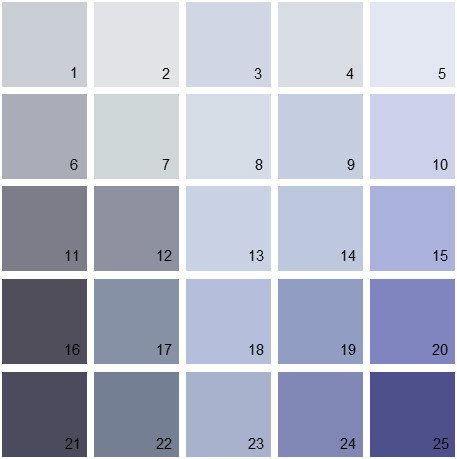 Benjamin Moore Purple House Paint Colors Palette 01