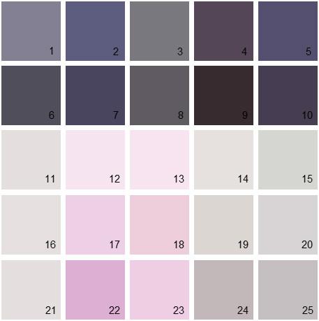 Benjamin Moore Purple House Paint Colors - Palette 05