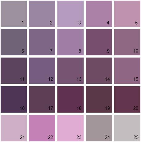 Benjamin Moore Purple House Paint Colors Palette 07