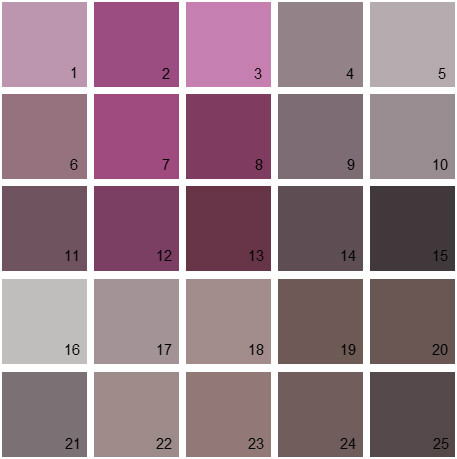 Benjamin Moore Purple House Paint Colors Palette 08