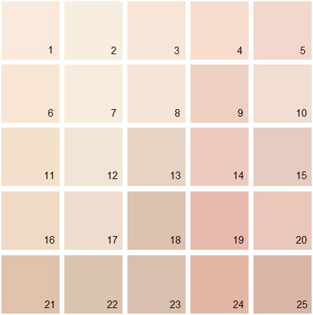 Benjamin Moore Red House Paint Colors - Palette 01