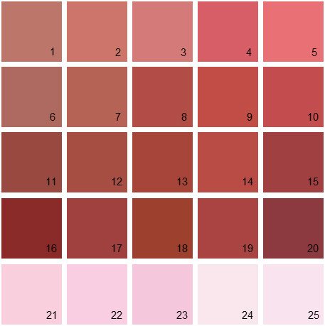 Benjamin Moore Red House Paint Colors - Palette 11