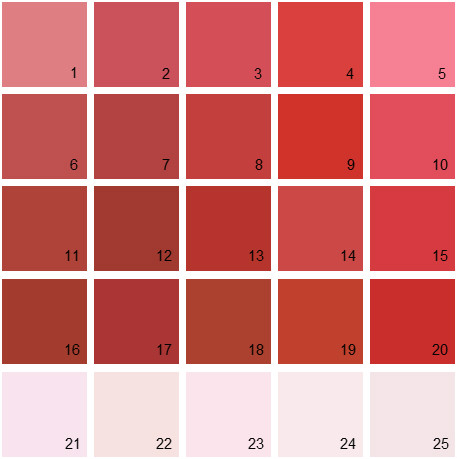 Benjamin Moore Red House Paint Colors - Palette 12