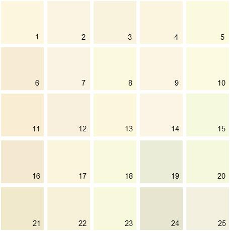 Benjamin Moore White House Paint Colors Palette 02