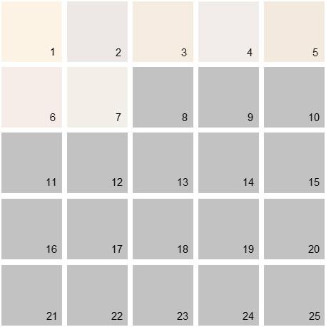 Benjamin Moore White House Paint Colors - Palette 07