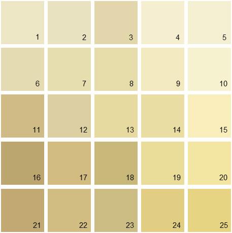 100 Paint Colors Butter Yellow Top Paint Colors