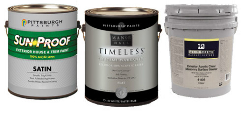 Pittsburgh Paints Paint Colors - Lines of Paint