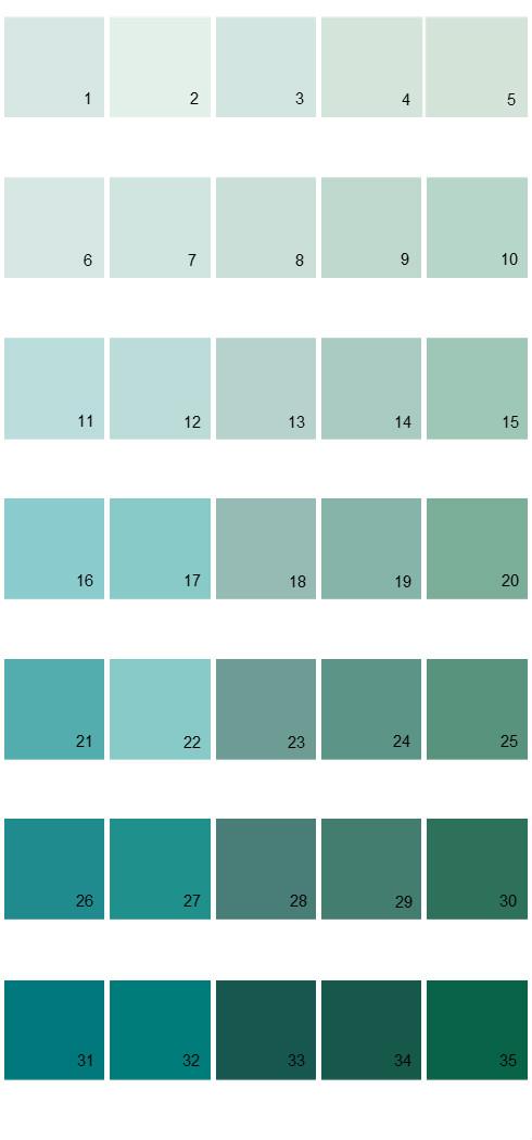 Pittsburgh Paints House Paint Colors - Palette 23